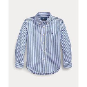 NWOT Ralph Lauren Striped Poplin Shirt